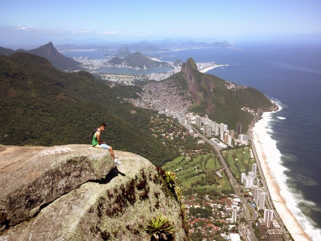 Climbing Gavea Rock