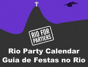 Rio Party Calendar app
