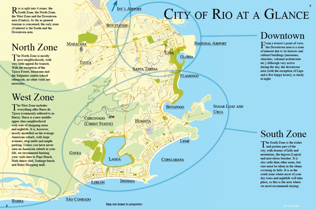 City of Rio at a glance
